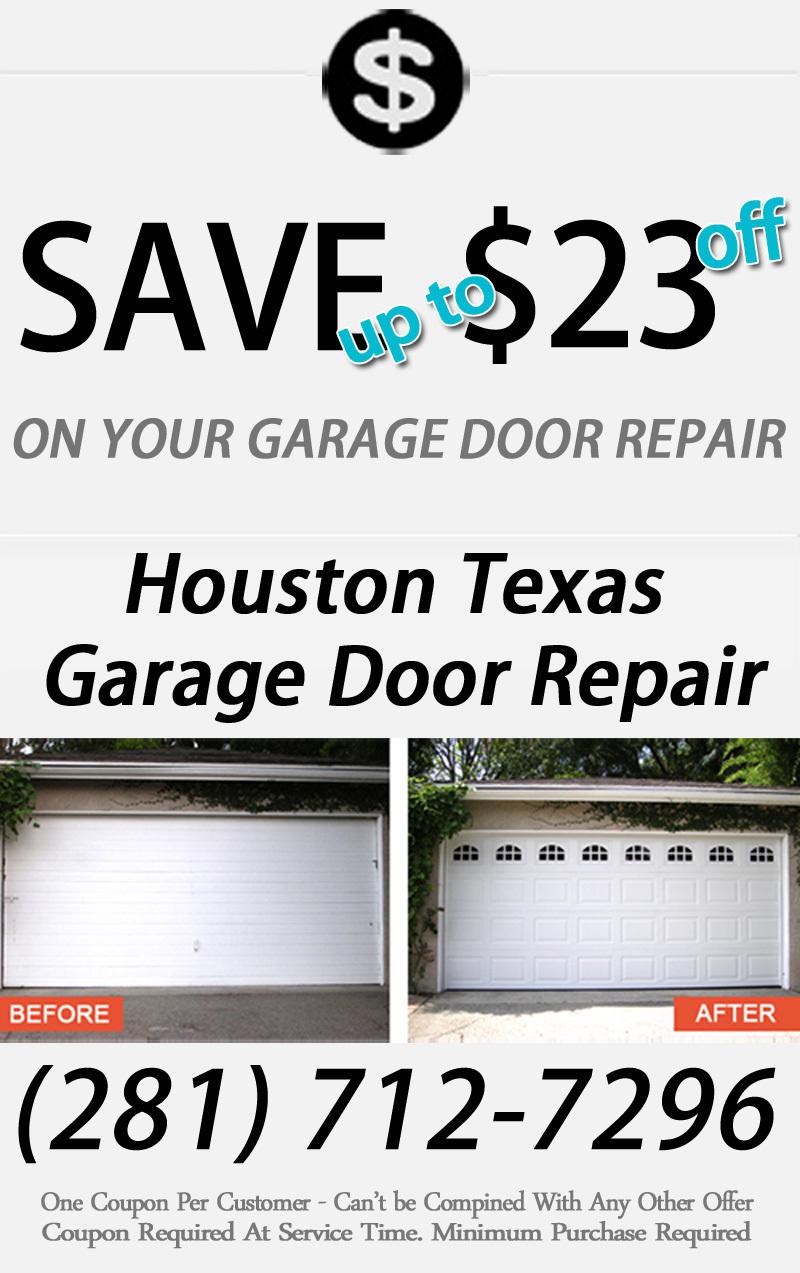 Garage Door Repair Repair Broken Springs Houston Texas